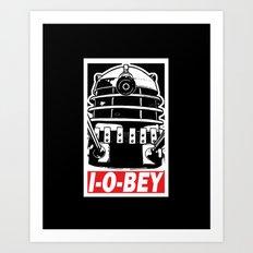 I-O-BEY '74 Art Print