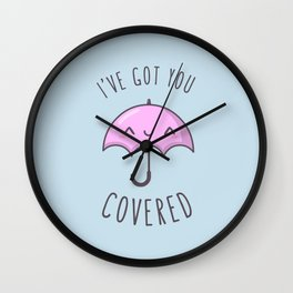 Under-Cover Wall Clock