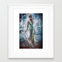 Framed Art Prints featuring Eugenia by Lindsay Rapp