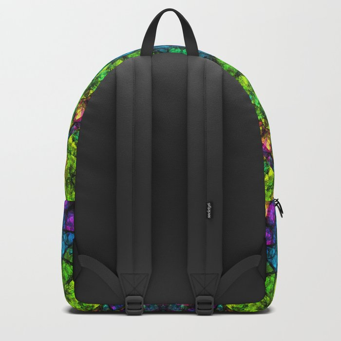 kaleidoscope Crystal Abstract G50 Backpack