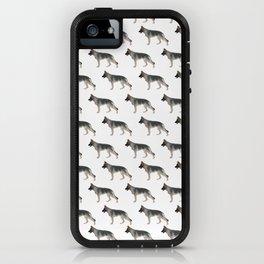 German Shepherd: Tan Sable iPhone Case