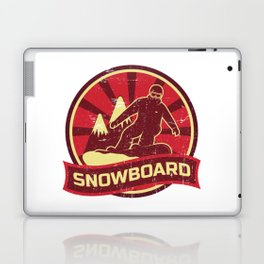 Snowboard Propaganda | Winter Sports Laptop & iPad Skin