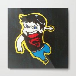 Chibi Superboy  Metal Print