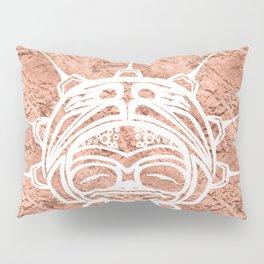 Spirit Frog Copper Pillow Sham
