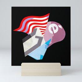 A Dispute Mini Art Print