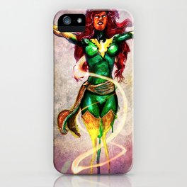 Dark Phoenix Reborn iPhone Case