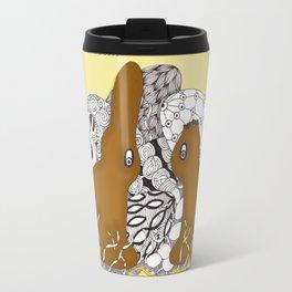 Chocolate Easter Bunny Problems Children Illustrations Travel Mug