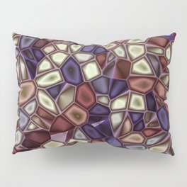 Fractal Gems 01 - Fall Vibrant Pillow Sham