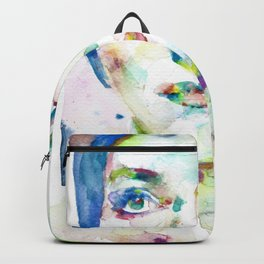 MARIA CALLAS - watercolor portrait.10 Backpack