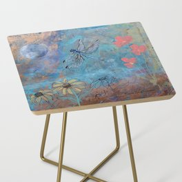 Dragonfly and Daymoon  Side Table