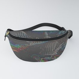 Get Lost -Grid Fanny Pack