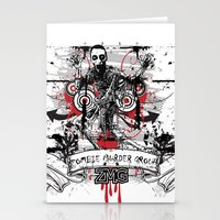zombie Stationery Cards featuring Zombie by DaeSyne Artworks