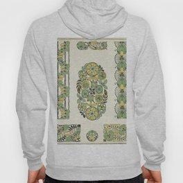 Vintage ornate floral pattern Hoody