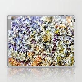Purple Forum Cut Cookies Strain Resinous Amber Trichomes Dank Buds Close Up Laptop & iPad Skin