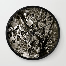 Locks of Love Wall Clock