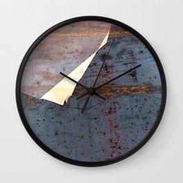 overlaps III Wall Clock