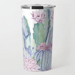 Desert Love Cactus + Succulents Travel Mug