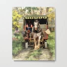 Take Me Home Country Road Metal Print