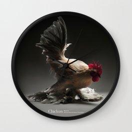 Chic!ken - Booted Bantam Wall Clock