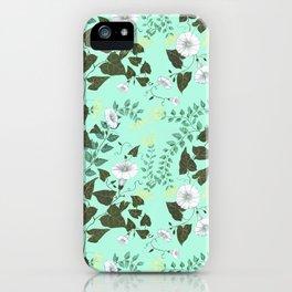 Honeysuckle & Bindweed iPhone Case