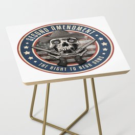Second Amendment Side Table
