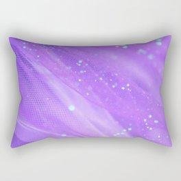 Pantone Purple, Wanderlust, Purple, Aqua, Abstract Rectangular Pillow