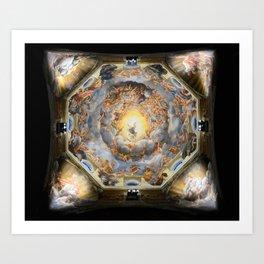 """Antonio Allegri da Correggio """"Cathedral (Parma) - Assumption"""" Art Print"""