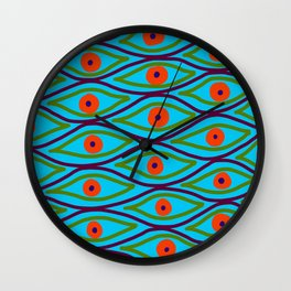 Their Eyes - Police Strobe Wall Clock