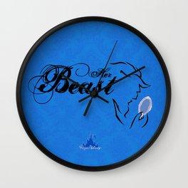 Her Beast Wall Clock