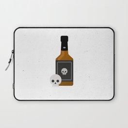 Whisky Death Laptop Sleeve