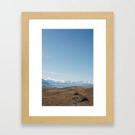 Lake Tekapo III Framed Art Print