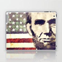 Patriot President Abraham Lincoln Laptop & iPad Skin