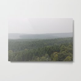 Over Harz Wald Metal Print