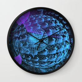 Spherical Abstract Wall Clock