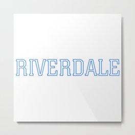 Riverdale - Logo Metal Print