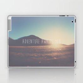 adventure awaits you ... Laptop & iPad Skin