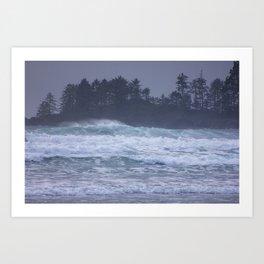 Pacific Northwest Storm Art Print