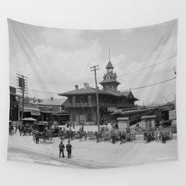 Pensacola, Florida 1900 Wall Tapestry