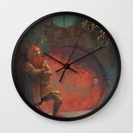 Berned Wall Clock