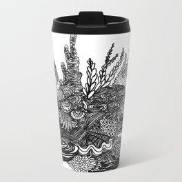 Hidden Cuttlefish Metal Travel Mug