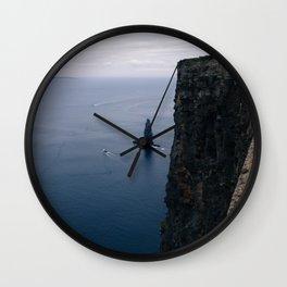 Cliffs Wall Clock