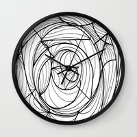 deco Wall Clocks featuring Deco by GiovZz.