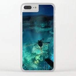 The Universe Below Clear iPhone Case