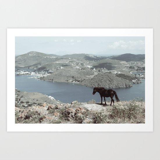 patmos scene Art Print