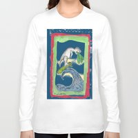 charlie Long Sleeve T-shirts featuring Charlie by Huiskat
