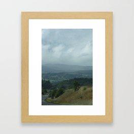 The Winding Roads of Scotland Framed Art Print