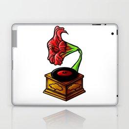 amaryllis gramophone Laptop & iPad Skin
