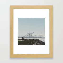 Love in Unexpected Places Framed Art Print