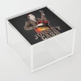 Johnny Cash Acrylic Box