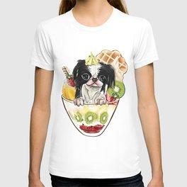 Japanese Chin sundae T-shirt